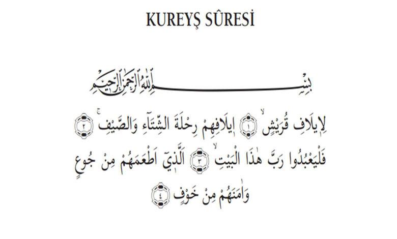 Photo of Kurayş Sûresi